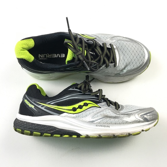 Saucony Ride 9 Running Men's Shoes Size 12.5